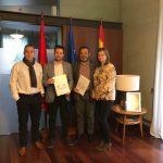 Firma del convenio interadministrativo entre la Comunidad de Bardenas Reales y el Consorcio EDER