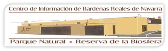 Logo Centro de Información de Bardenas Reales de Navarra - Parque Natural - Reserva de la Biosfera