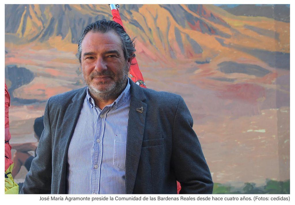 Entrevista al presidente de la Comunidad de Bardenas Reales, José María Agramonte
