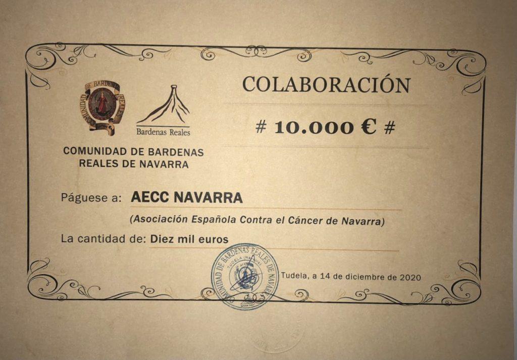 Reconocimiento y aportación a la AECC