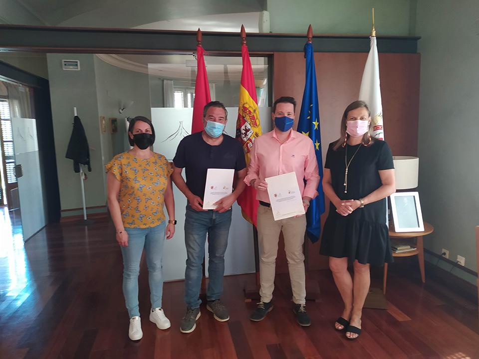 FIRMA DE UN NUEVO CONVENIO ENTRE LA COMUNIDAD DE BARDENAS REALES DE NAVARRA Y EL CONSORCIO EDER