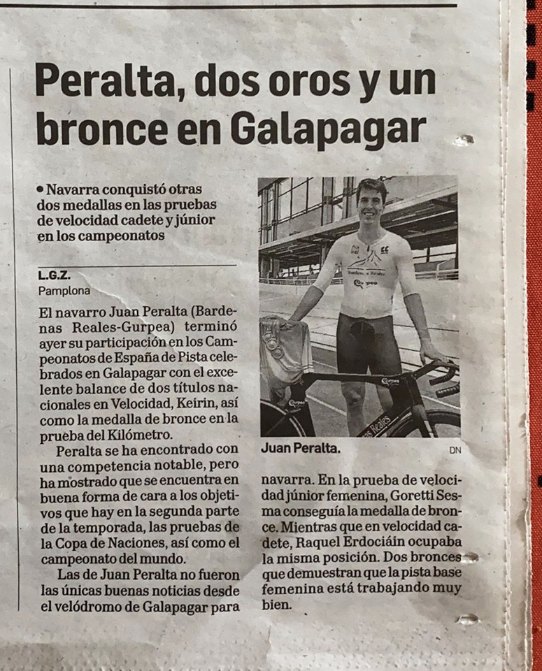 Juan Peralta - Campeonato de España de Pista 2021