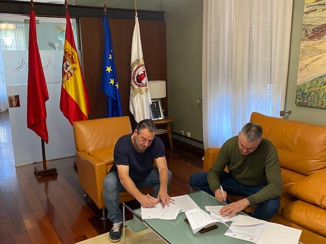 CONVENIO INTERADMINISTRATIVO CON EL VALLE DEL RONCAL 21.09.2021
